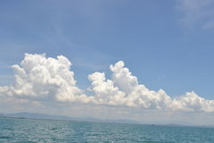 Cielo en el mar Fotografía de archivo