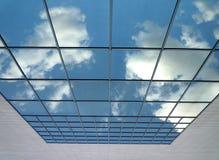 Cielo en el vidrio Fotos de archivo