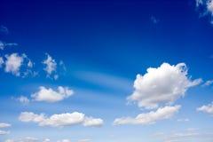 Cielo en la mañana Imagenes de archivo