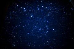 Cielo en la noche Foto de archivo libre de regalías