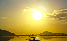 Cielo en la tierra CACHEMIRA Imagen de archivo