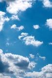 Cielo en nubes Fotografía de archivo libre de regalías