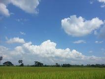 Cielo en país Imagen de archivo libre de regalías