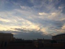 Cielo en Roma fotografía de archivo libre de regalías