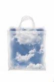 Cielo en un bolso Imagenes de archivo