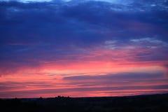 Cielo escénico en Francia Fotos de archivo