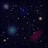 Cielo estrellado Foto de archivo
