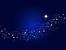 Cielo estrellado Foto de archivo libre de regalías