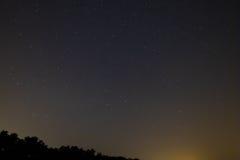 Cielo estrellado Imagenes de archivo