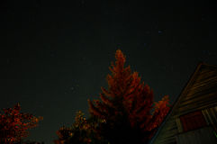 Cielo estrellado Fotografía de archivo