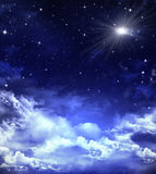 Cielo estrellado hermoso Fotos de archivo libres de regalías