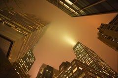 Cielo Geometry_02 de Nueva York Foto de archivo