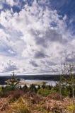 Cielo grande en Kielder Fotos de archivo