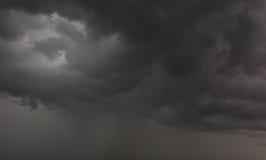 Cielo grigio Fotografia Stock