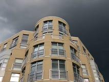 Cielo grigio scuro Fotografie Stock Libere da Diritti