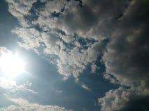 Cielo hermoso Foto de archivo