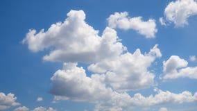 cielo hermoso con la nube Fotos de archivo
