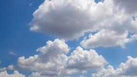 cielo hermoso con la nube Imagenes de archivo