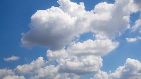 cielo hermoso con la nube Imagen de archivo