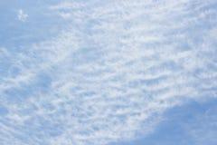 Cielo hermoso con las nubes foto de archivo libre de regalías