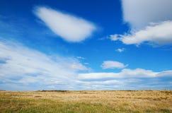 Cielo hermoso en Patagonia Imagenes de archivo