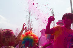 Cielo 5K di colore Fotografia Stock