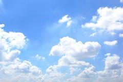 Cielo luminoso Immagine Stock
