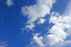 Cielo luminoso fotografie stock libere da diritti