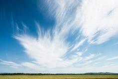 Cielo mágico del verano Fotos de archivo