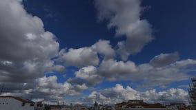 Cielo a Madrid stock footage