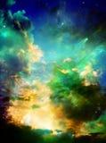 Cielo magico Fotografie Stock Libere da Diritti