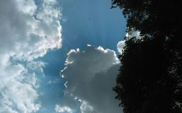 Cielo magnífico Foto de archivo libre de regalías