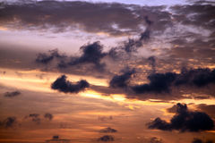 Cielo malasio Fotografía de archivo libre de regalías