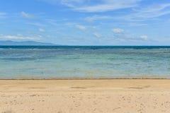 Cielo, mare e spiaggia Fotografia Stock