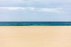 Cielo, mare, sabbia Immagine Stock Libera da Diritti