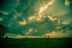 Cielo massiccio Fotografia Stock