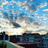Cielo mejor Marruecos del wow Fotografía de archivo libre de regalías