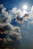 Cielo minaccioso Fotografie Stock Libere da Diritti