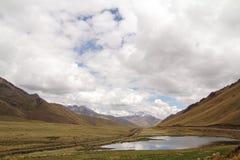 Cielo in montagne Fotografie Stock