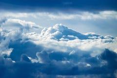 Cielo mountains-4 immagini stock