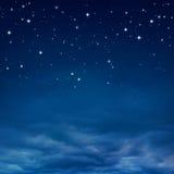 Cielo nocturno Fotografía de archivo libre de regalías