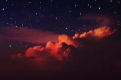 Cielo nocturno Imagen de archivo