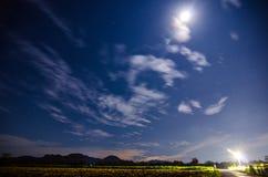 Cielo nocturno Imágenes de archivo libres de regalías