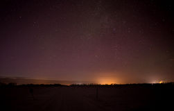 Cielo nocturno Fotos de archivo