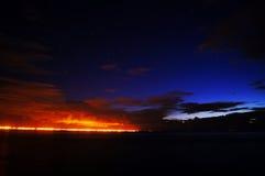 Cielo nocturno imagen de archivo libre de regalías