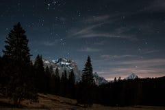 Cielo nocturno Fotos de archivo libres de regalías