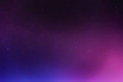 Cielo nocturno abstracto con el fondo de las estrellas Imagen de archivo libre de regalías