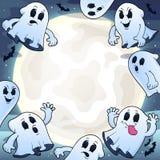 Cielo nocturno con el tema 1 de los fantasmas Fotografía de archivo libre de regalías