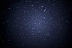 Cielo nocturno con las estrellas Imagen de archivo libre de regalías
