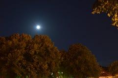 Cielo nocturno en Serbia Fotos de archivo libres de regalías